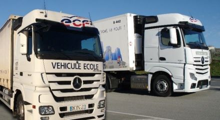 Véhicules ECF Roudaut : porteur & semi-remorque