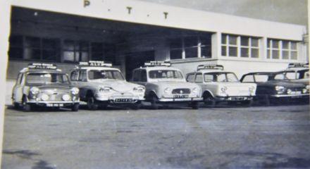 voiture de l 'auto école en 1968