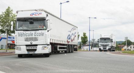 Convois ECF sur route