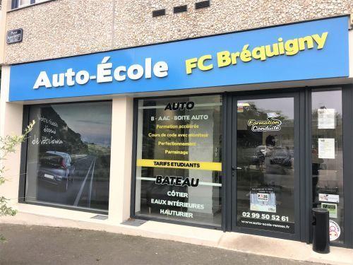Auto-école ECF Rennes Brequigny