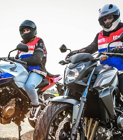 Eleves moto ECF
