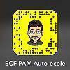 snapchat ECF PAM auto-école