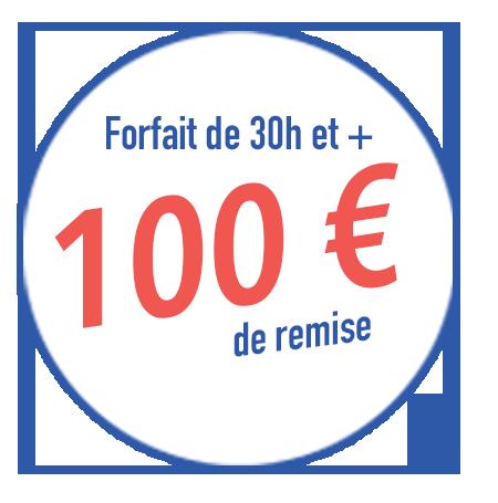 remise 100€ rentrée