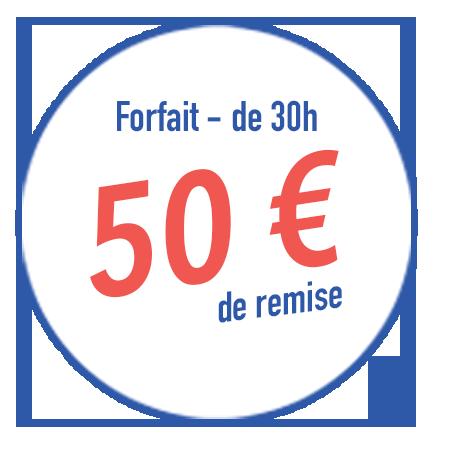 Remise 50€ opération rentrée