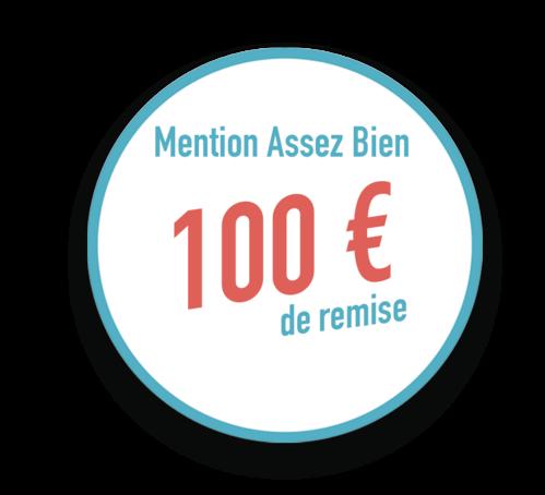 Remise ECF de 100 €
