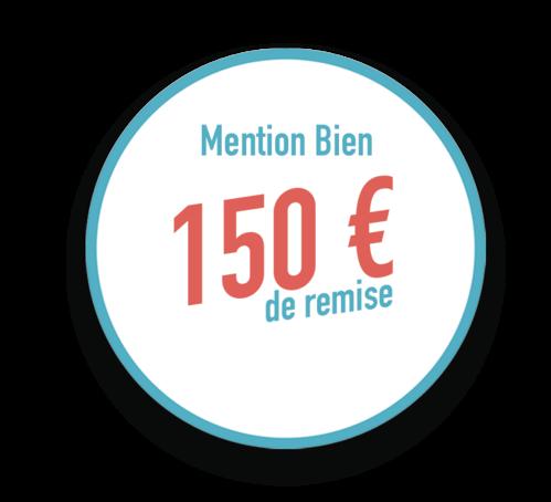 Remise ECF de 150 €