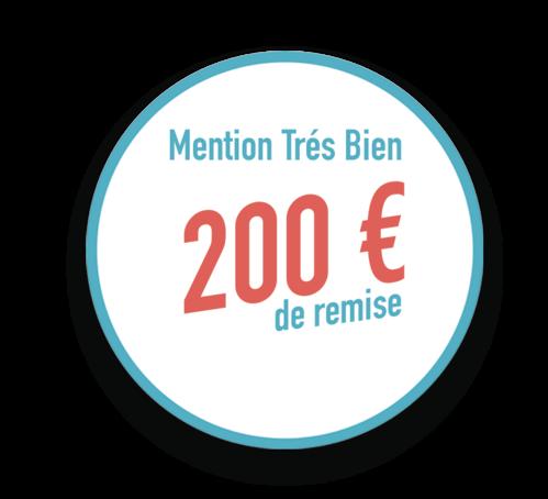 Remise ECF de 200 €