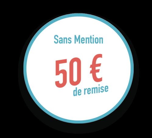 Remise ECF de 50 €