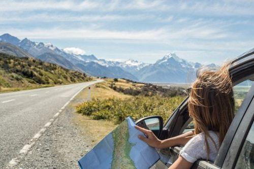 voiture + paysage