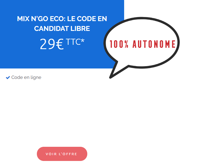 code en ligne 29€
