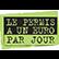 Financement permis voiture auto-école Rennes