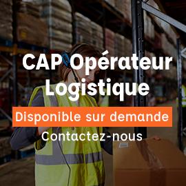 CAP Opérateur logistique