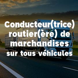 conducteur routier marchandises tous véhicules ECF Blois
