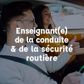 ECSR enseignant conduite sécurité routière