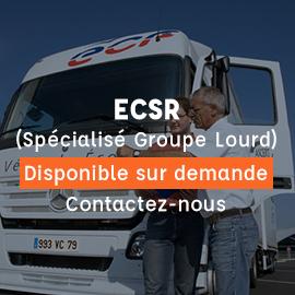 ECSR enseignant conduite sécurité routière spécialisé groupe lourd
