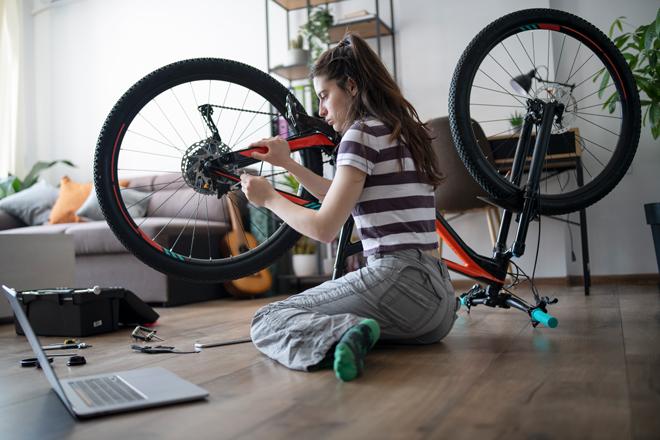Entretien du vélo