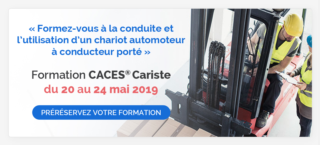 Formation CACES Cariste