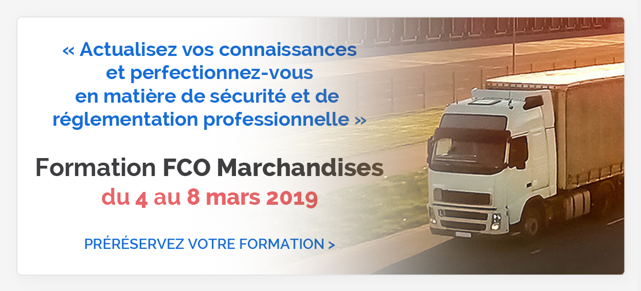 Formation FCO Marchandises