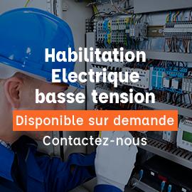 habilitation électrique basse tension