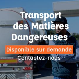 transport matières dangereuses
